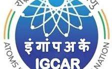 IGCAR Notification 2021