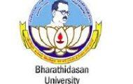 Bharathidasan University notification 2021