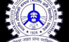 IIT ISM Notification 2021